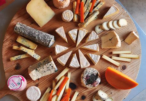 Plateau de fromage fromagerie yvelines ferme de gally